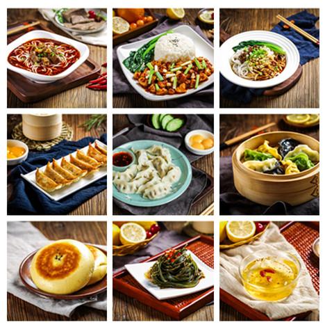 惠美饺子加盟产品美食