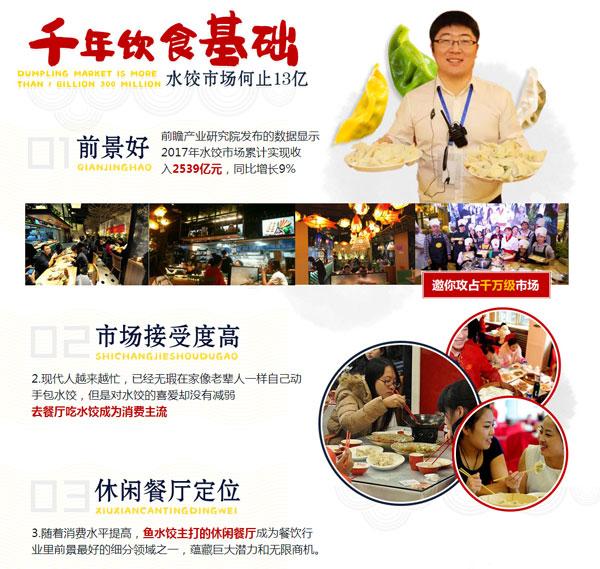 惠美鱼水饺市场前景